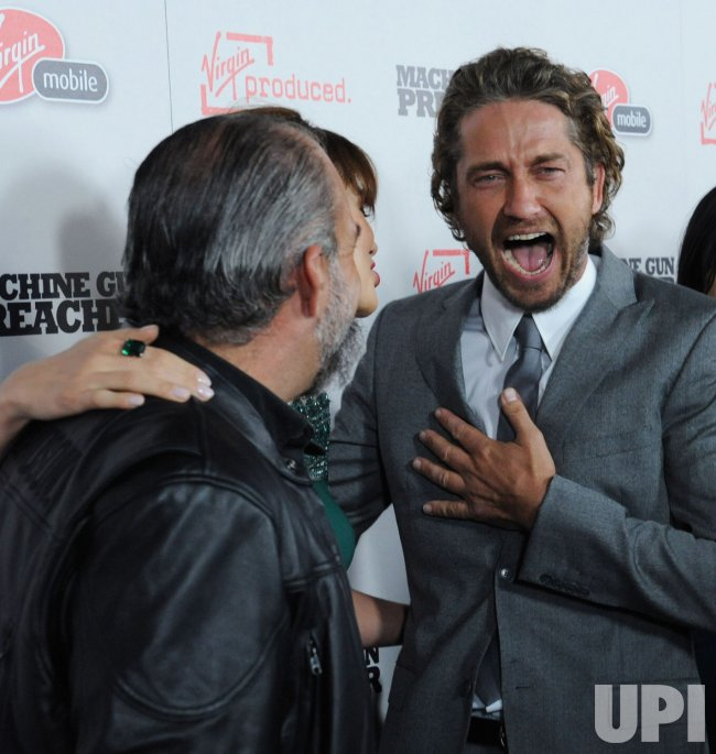 Sam Childers Michelle Monaghan And Gerard Butler Attend The
