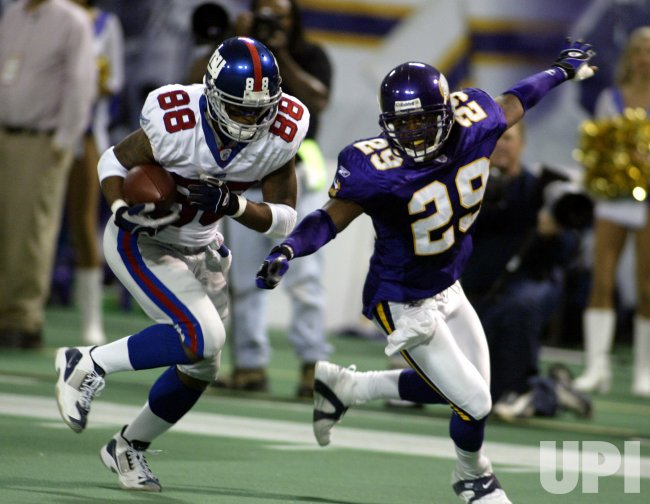 NLF FOOTBALL - MINNESOTA VIKINGS VS. NEW YORK GIANTS