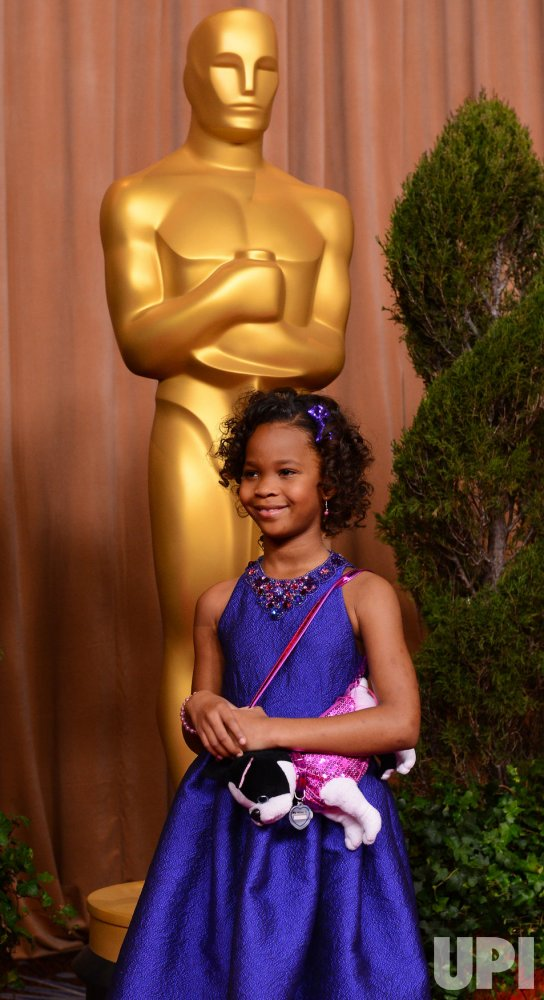 Quvenzhane Wallis attends Oscar nominees luncheon in Beverly Hills