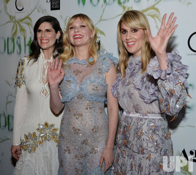 "Kirsten Dunst and Katie and Laura Mulleavy attend the ""Woodshock"" premiere in Los Angeles"