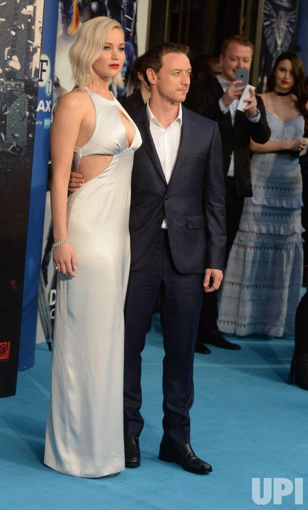 James McAvoy shot Jennifer Lawrence with a BB gun while
