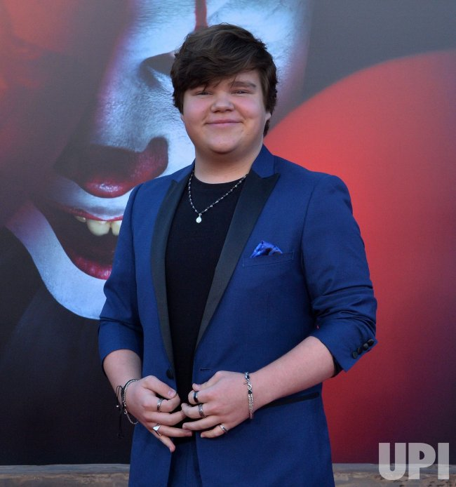 "Jeremy Ray Taylor attends the ""It Chapter Two"" premiere in Los Angeles"