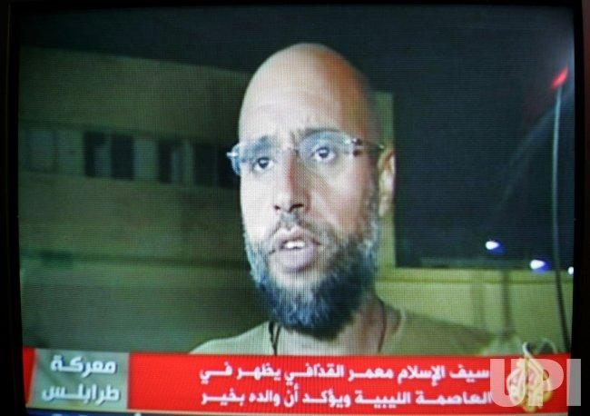 Moammar Gadhafi's son Seif al-Islam