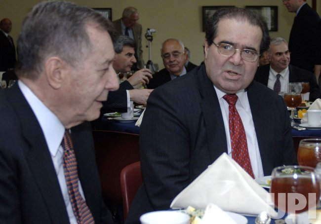 SUPREME COURT JUSTICE SCALIA ATTENDS NIAF LUNCHEON