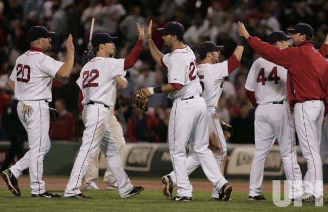 MLB Florida Marlins vs Boston Red Sox