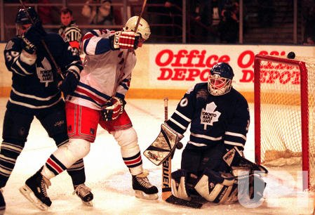 New York Rangers vs. Toronto Maple Leafs hockey