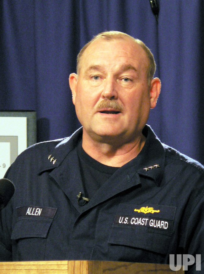 VICE ADMIRAL THAD ALLEN SPEAKS ON TRANSITIONAL HOUSING FOR EVACUEES
