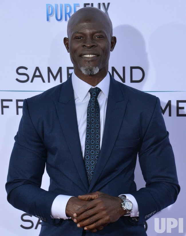 "Djimon Hounsou attends the ""Same Kind of Different as Me"" premiere in Los Angeles"