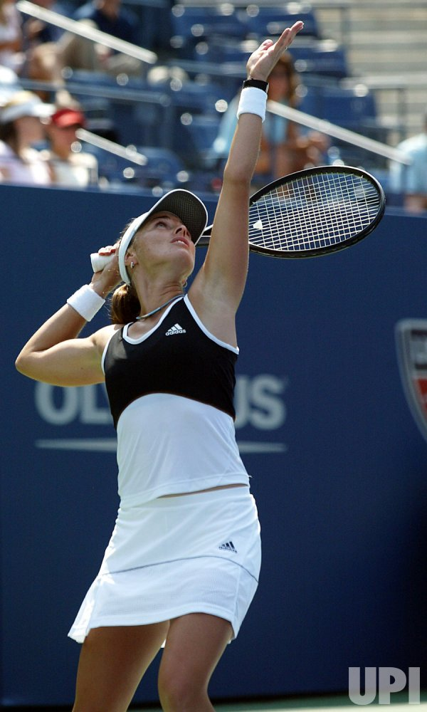 U.S. OPEN TENNIS ROUND ONE IN NEW YORK