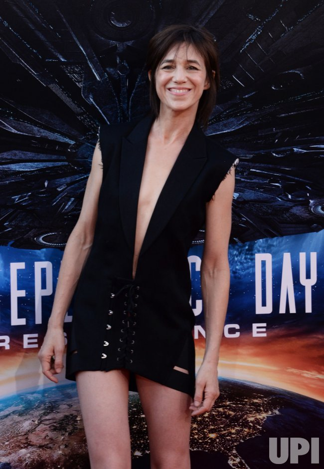 "Charlotte Gainsbourg attends the ""Independence Day: Resurgence"" premiere in Los Angeles"