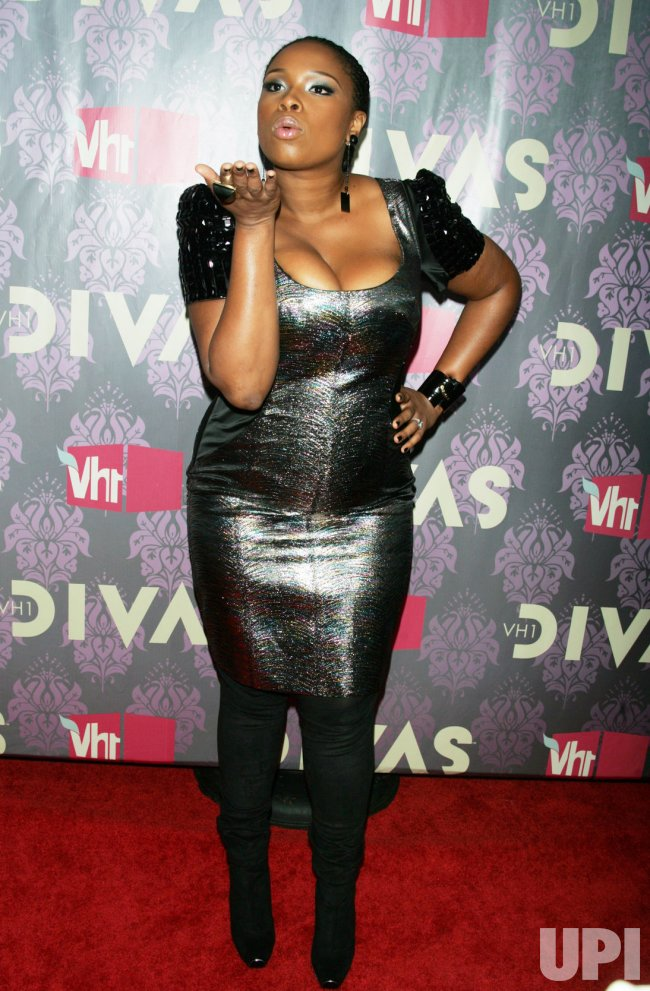 Jennifer Hudson arrives for the VH1 Divas in Brooklyn, New York