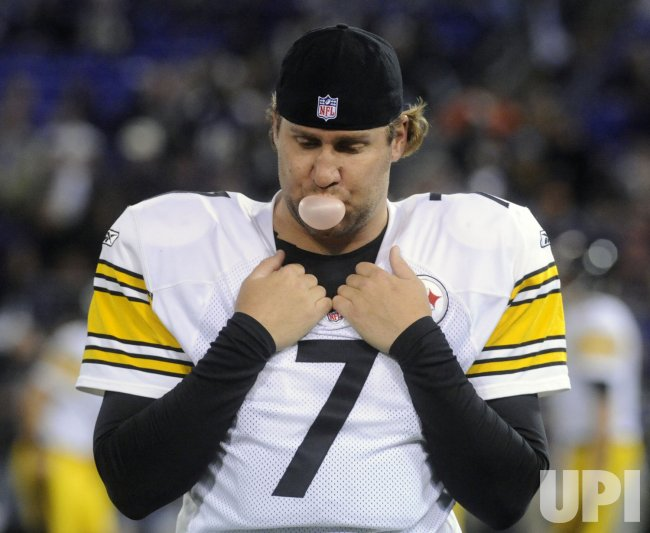 Steelers Roethlisberger sits out of game against Ravens in Baltimore