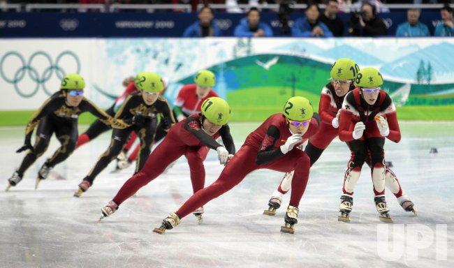 Women's 3000 m relay Short Track Speed Skating at the 2010 ...