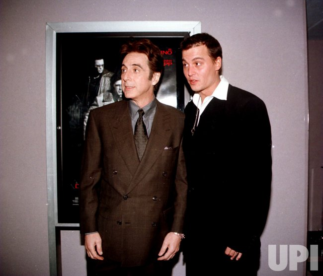 Al Pacino and Johnny Depp