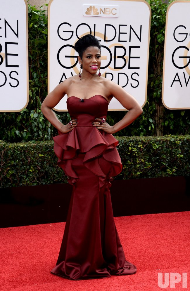 Jacque Reid Attends The 73rd Annual Golden Globe Awards