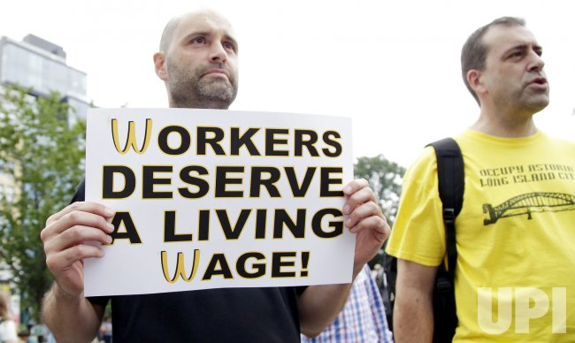 Fast-Food Workers Expected to Protest Low Wages Nationwide in New York..