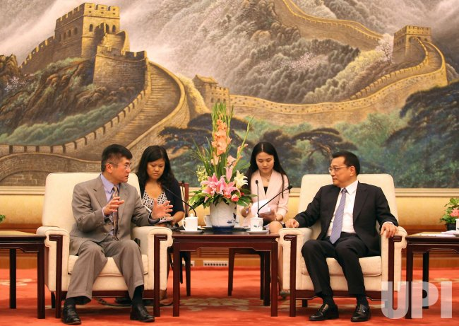 U.S. Commerce Secretary Gary Locke in Beijing