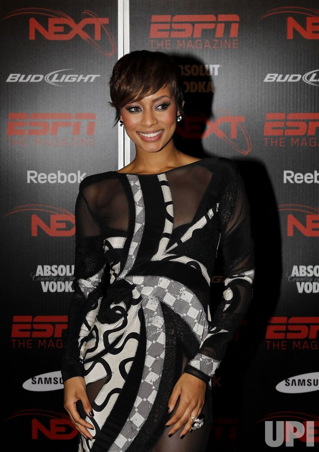 Singer Keri Hilson at the ESPN the Magazine's NEXT Event in Miami Beach
