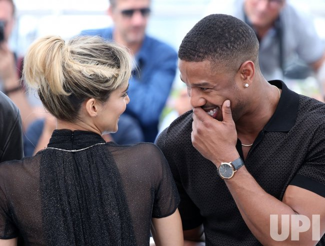 1e7d85b1f38959 Sofia Boutella and Michael B. Jordan attend the Cannes Film Festival ...
