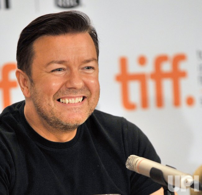 Ricky Gervais attends Toronto International Film Festival