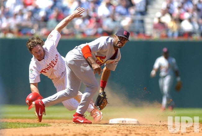 ST. LOUIS CARDINALS AND PHILADELPHIA PHILLIES MLB BASEBALL