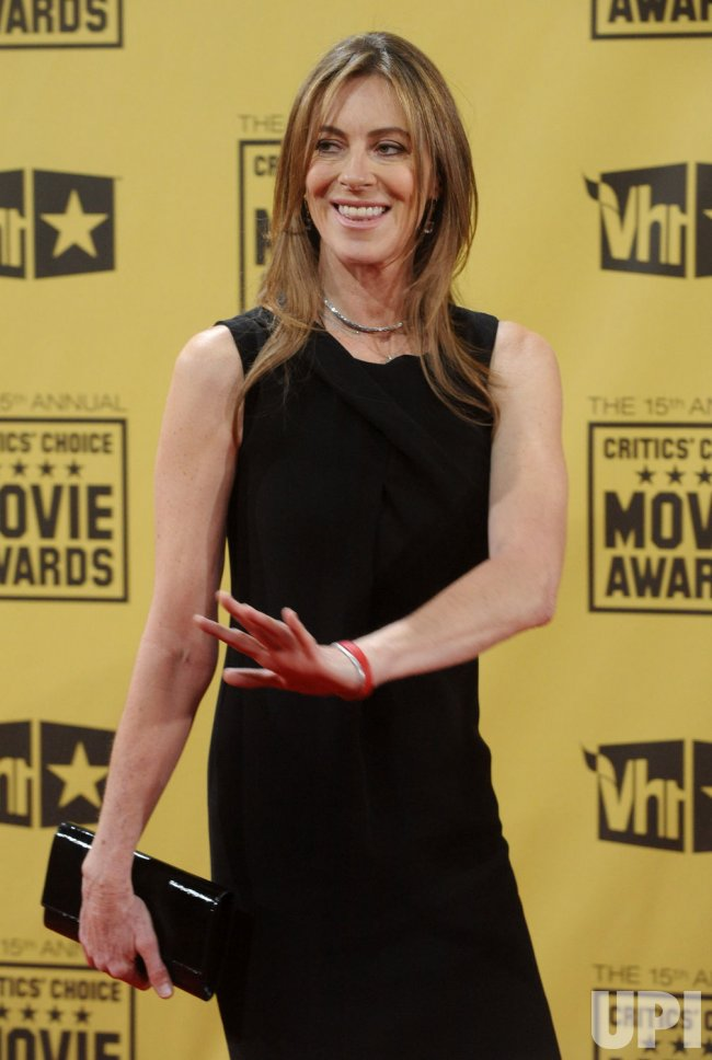 Kathryn Bigelow attends the 15th annual Critics' Choice Movie Awards in Los Angeles