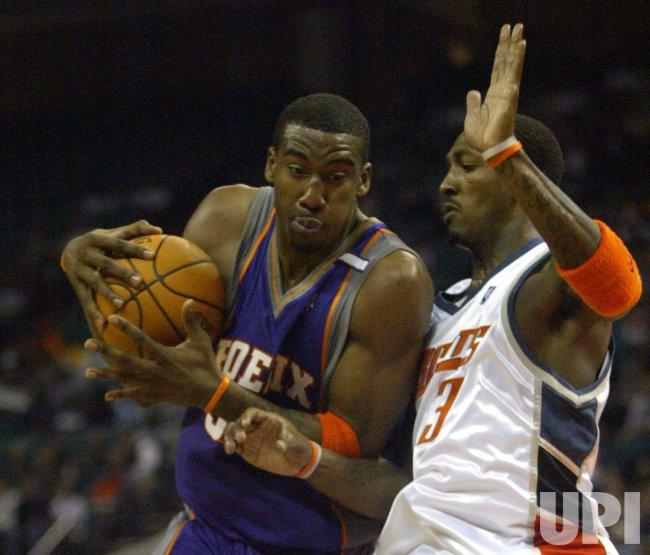 NBA PHOENIX SUNS AT CHARLOTTE BOBCATS