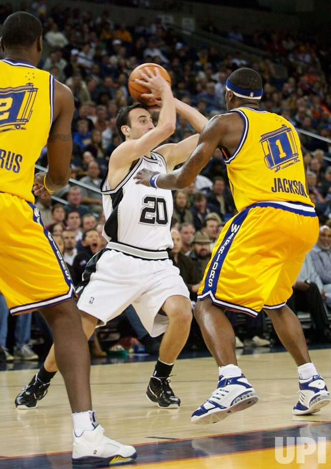 SAN ANTONIO SPURS VS GOLDEN STATE WARRIORS