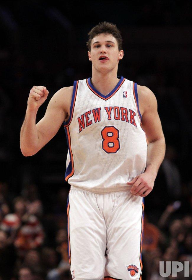 New York Knicks Danilo Gallinari at Madison Square Garden in New York