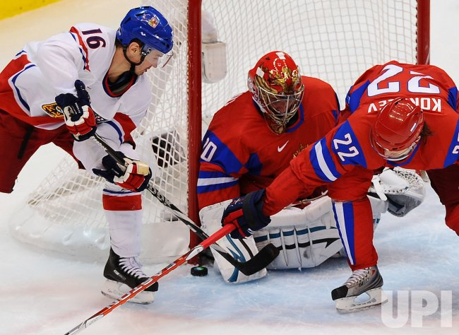 Russia vs. Czech Republic Men's Ice Hockey at 2010 Winter Olympics in Vancouver