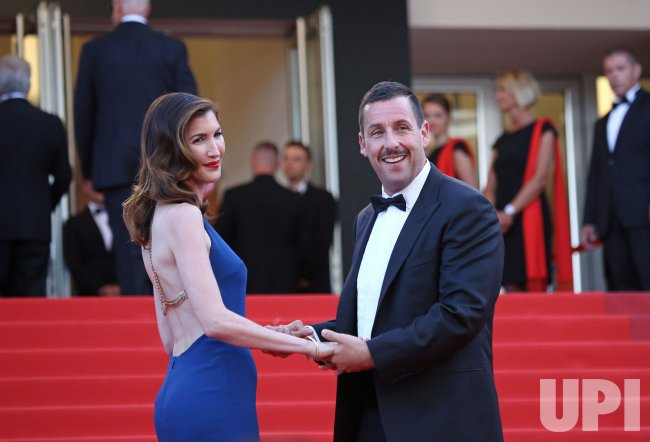Adam and Jackie Sandler attend the Cannes Film Festival - UPI com