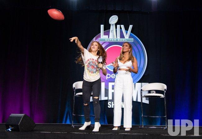 Super Bowl LIV Pepsi Halftime Show Press Conference