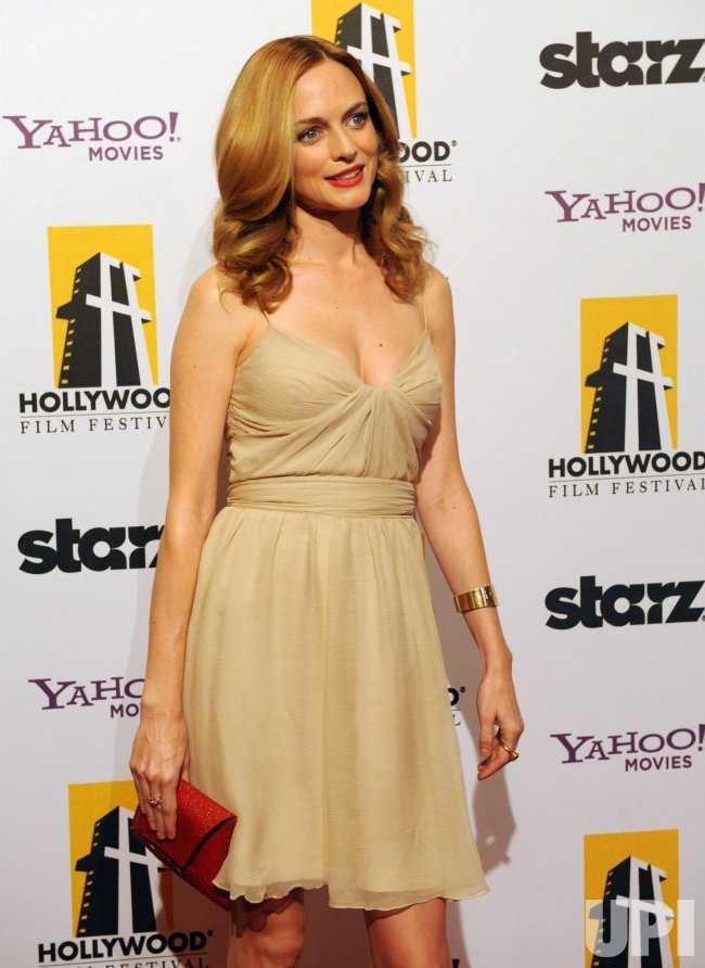 Heather Graham attends the 14th annual Hollywood Film Festival Awards in Beverly Hills, California
