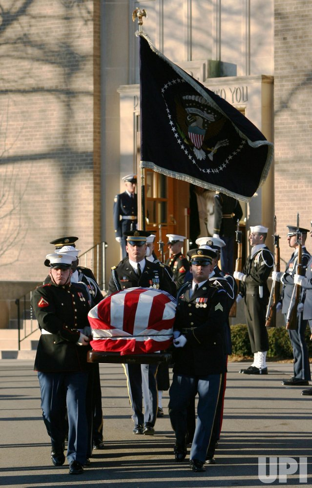 PRESIDENT GERALD FORD FUNERAL