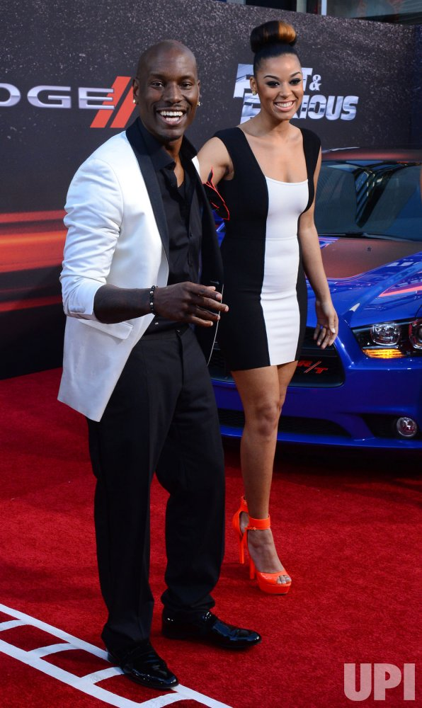 "Tyrese Gibson attends the ""Fast & Furious 6"" premiere in Llos Angeles"