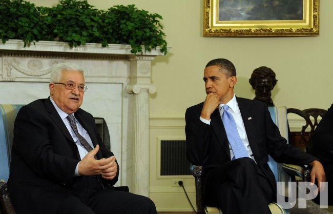 U.S. President Obama meets with Palestinian President Abbas in Washington