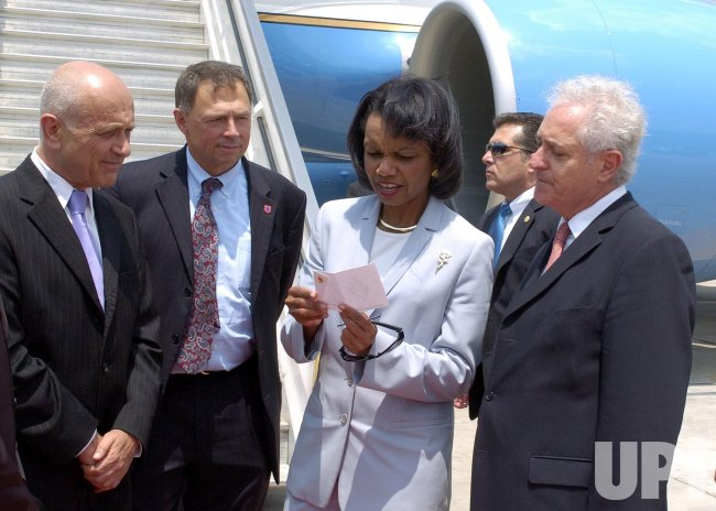 U.S. SECRETARY OF STATE RICE VISITS ISRAEL