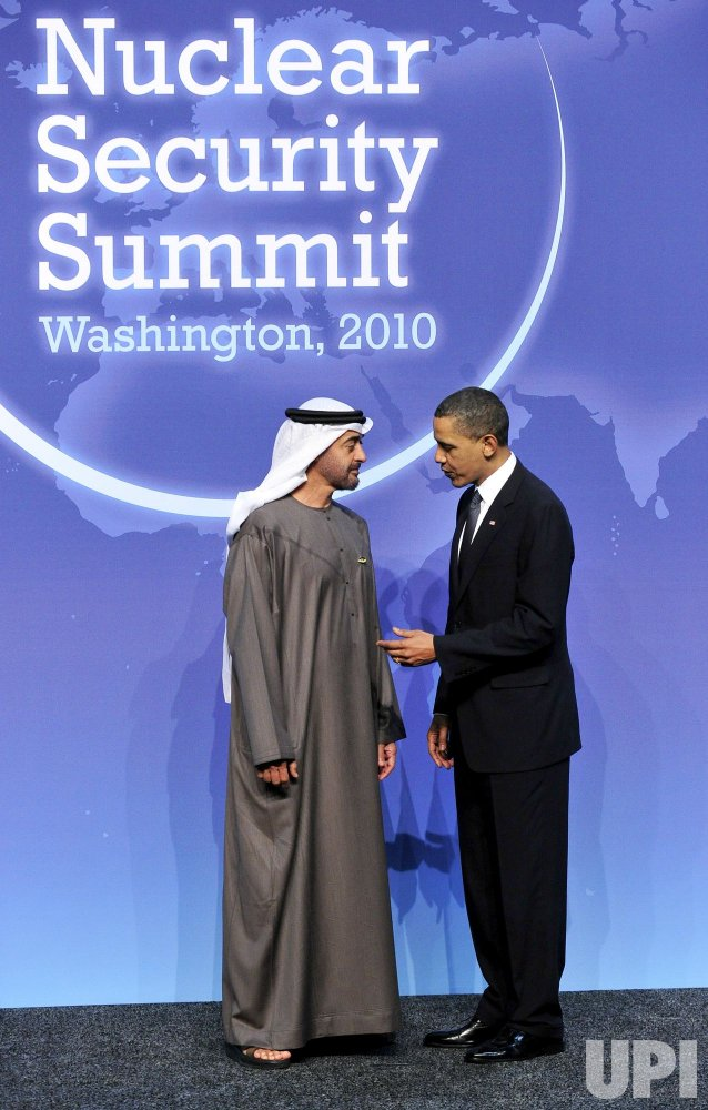 Obama Welcomes Sheikh Mohamed of the UAE to the Nuclear Security Summit
