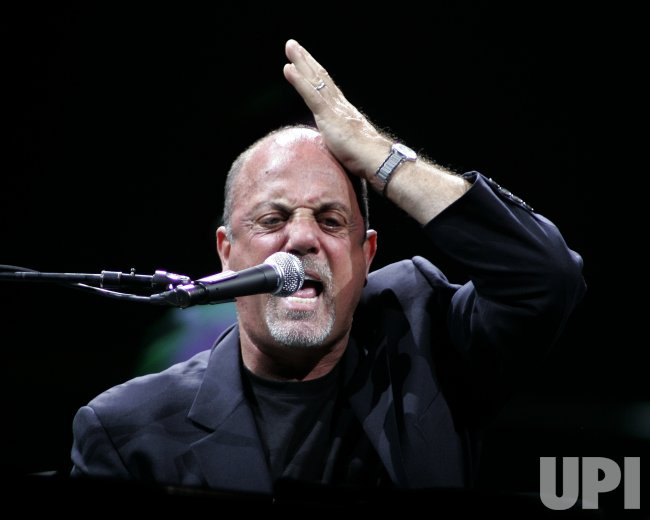 BILLY JOEL PERFORMS IN CONCERT