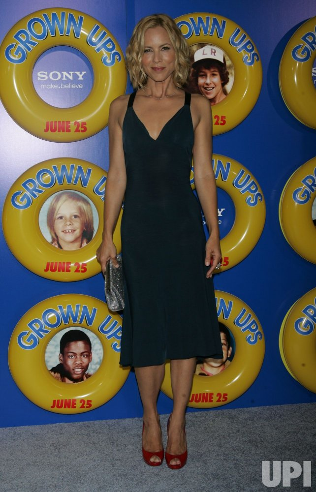 """Maria Bello arrives for the """"Grown Ups"""" Premiere in New York"""