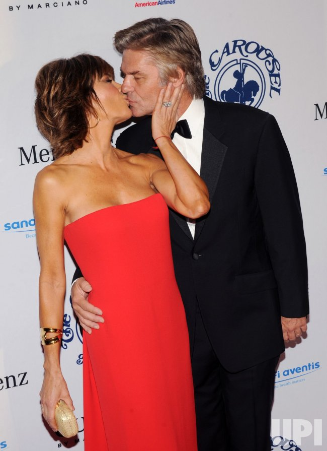 Lisa Rinna and Harry Hamlin attend the 32nd anniversary Carousel of Hope Ball in Beverly Hills