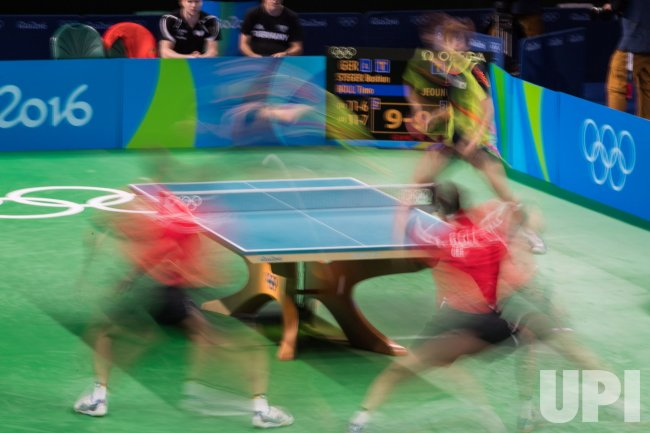 Men's Team Table Tennis Bronze Medal Match at the 2016 Rio ...