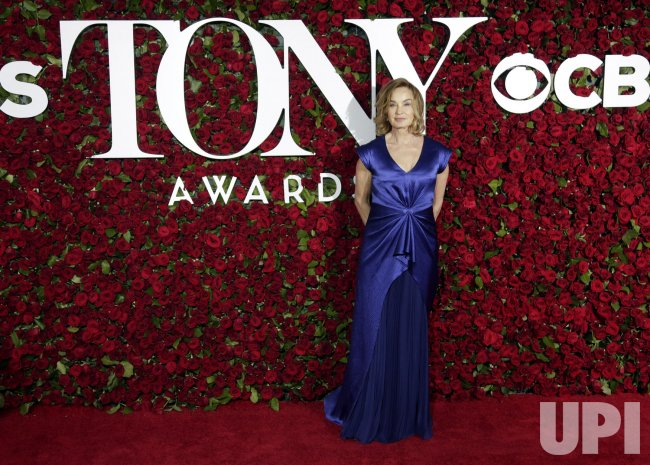 Jessica Lang at the 70th Annual Tony Awards