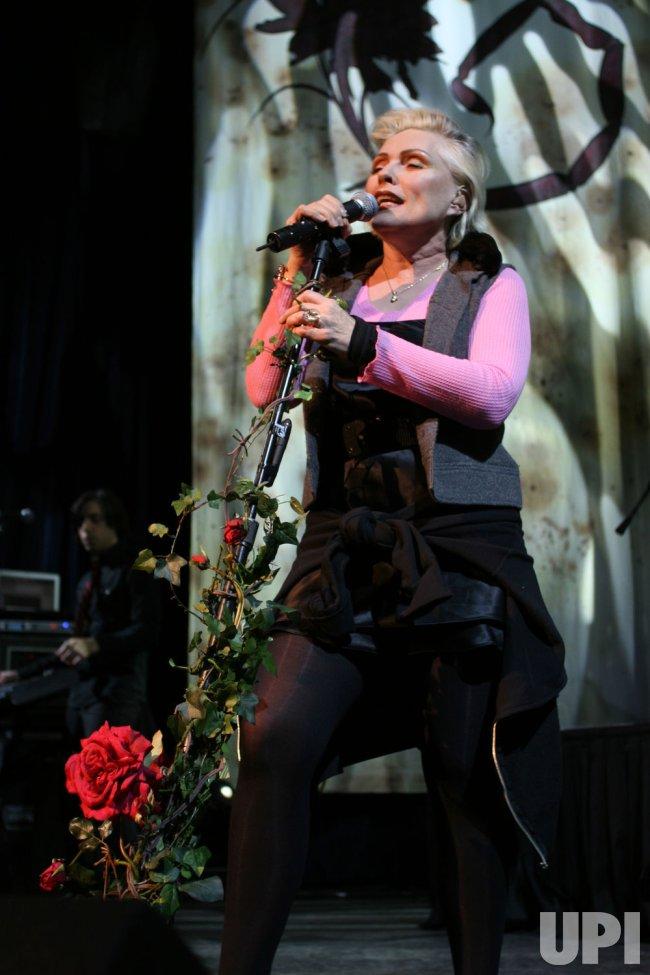 Deborah Harry performs in concert in Las Vegas