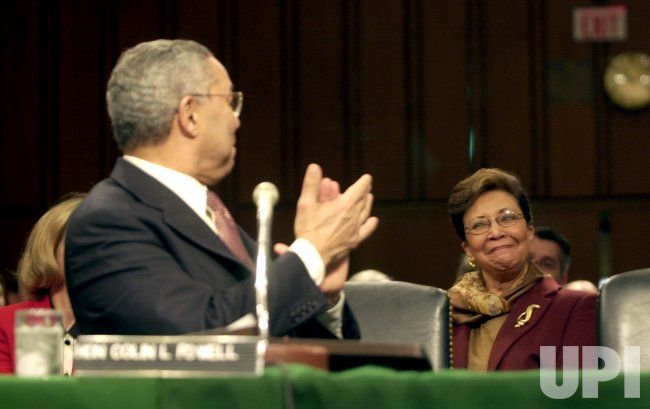Colin Powell confirmation hearing