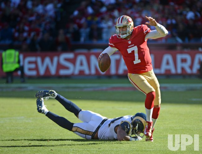 49ers vs St. Louis Rams in San Francisco