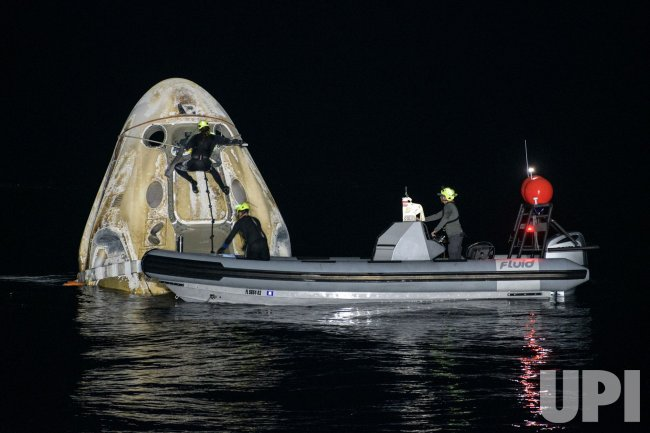 Splashdown of NASA and SpaceX Launch of Crew-1 Mission