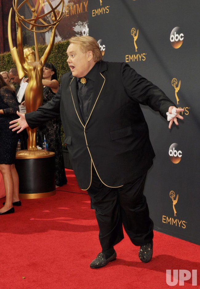 Louie Anderson attends the 68th Primetime Emmy Awards in Los Angeles
