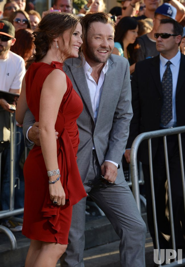 "Jennifer Garner and Joel Edgerton attend the premiere of ""The Odd Life of Timothy Green"" in Los Angeles"