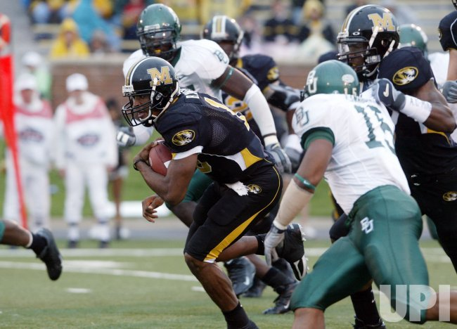 UNIVERSITY OF BAYLOR VS UNIVERSITY OF MISSOURI FOOTBALL
